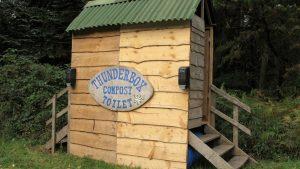 Thunderbox at Fingle Woods