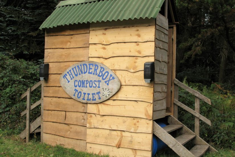 Thunderbox at Fingle Woods